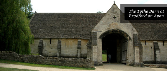 Places of Interest in Somerset - The Tythe Barn at Bradford on Avon